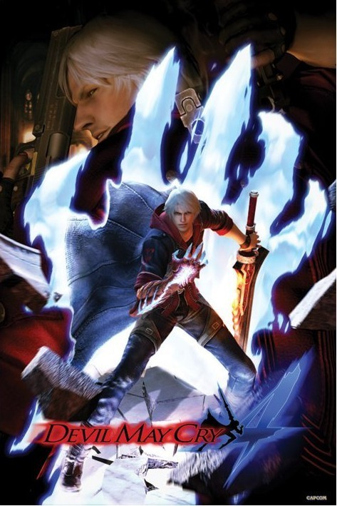 Devil may cry 4 Plakát
