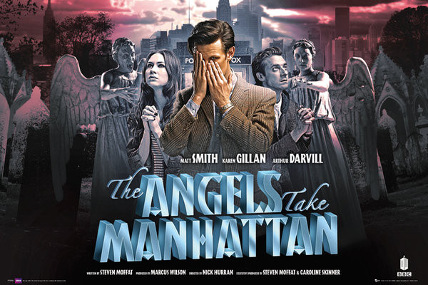 DOCTOR WHO - angels take manha Plakát