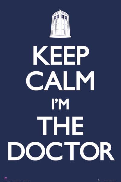 Doctor Who - Keep calm Plakát