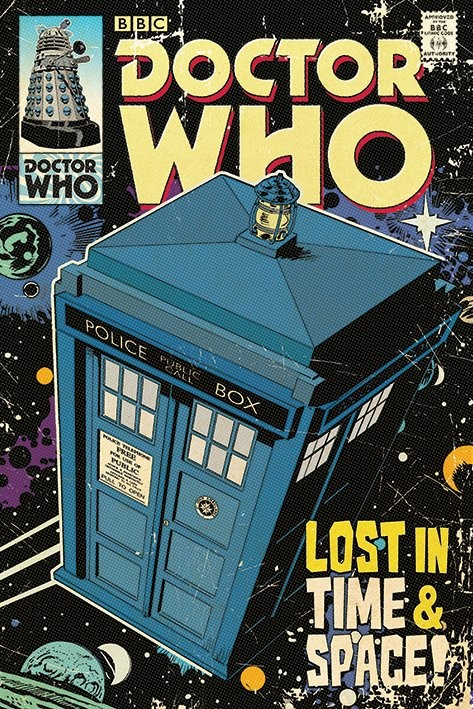 Plakát Doctor Who - Ki vagy, doki? - Lost in Time & Space