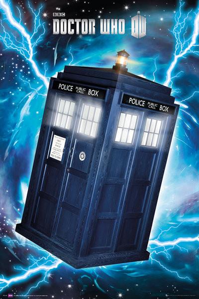 DOCTOR WHO - tardis Plakát