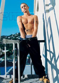 Eminem - finger Plakát