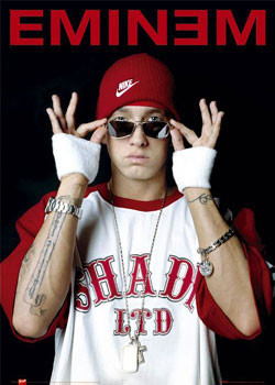 Eminem - glasses Plakát