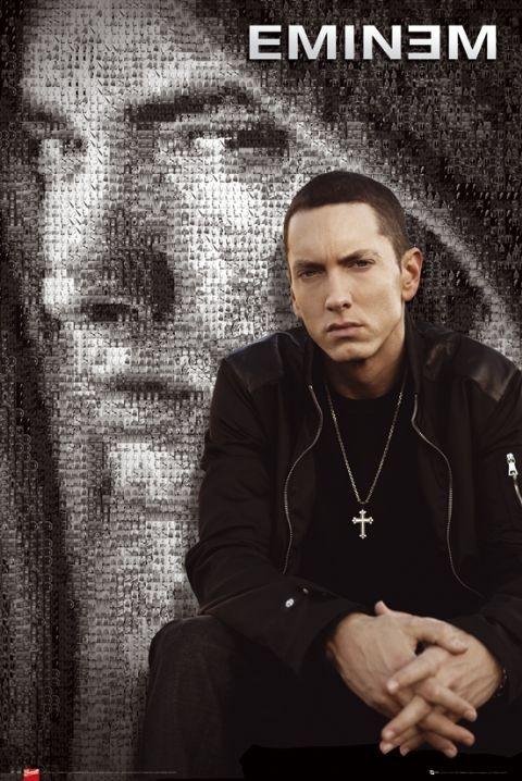 Eminem - mosaic Plakát