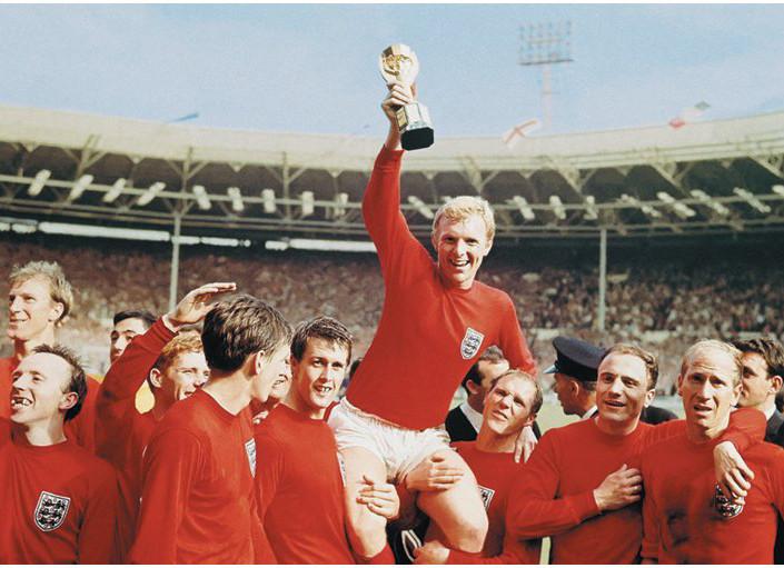 England 1966 - World cup Team Plakát