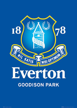 Everton - club crest Plakát