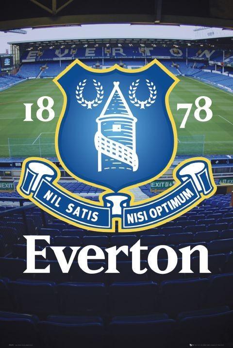Everton - goodison crest Plakát