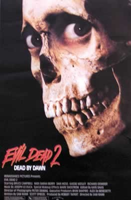 EVIL DEAD - GONOSZ HALOTT 2.  plakát