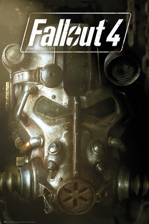 Fallout 4 - Mask Plakát