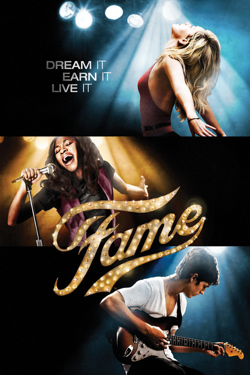 FAME - one sheet Plakát