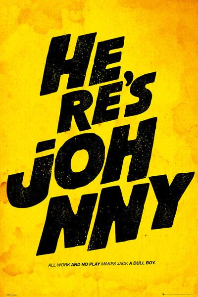 FILM QOUTES - johnny Plakát