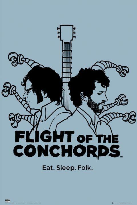 FLIGHT OF THE CONCHORDS - eat sleep folk plakát