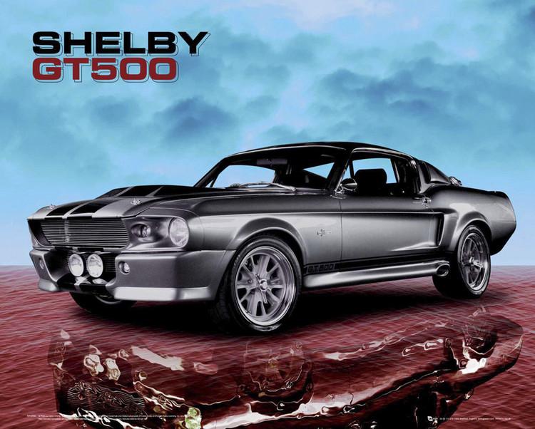 Ford Shelby - mustang gt500 sky  Plakát