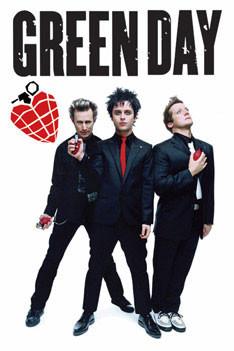 Green Day - grenades Plakát