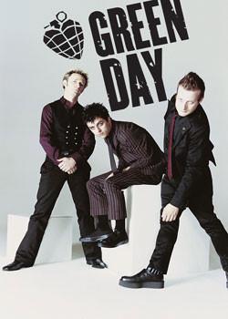 Green Day - white room Plakát