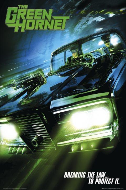 Green hornet - teaser Plakát