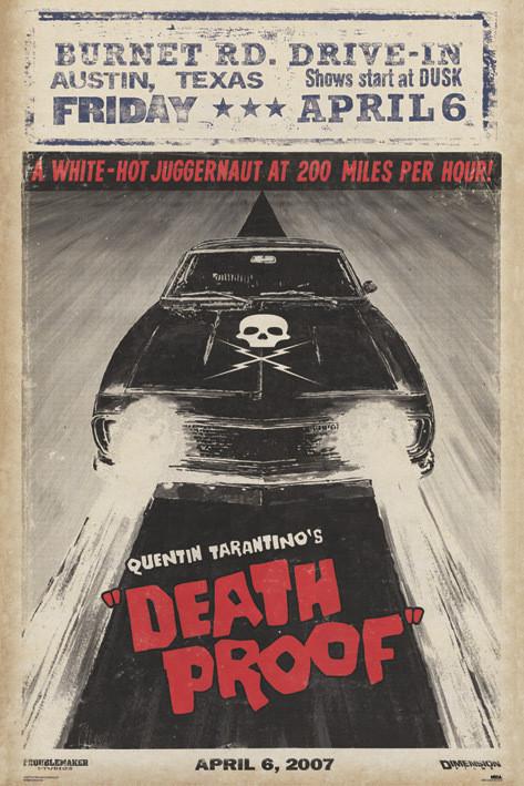 GRINDHOUSE - car Plakát