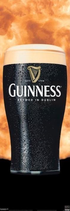 Guinness - surge Plakát