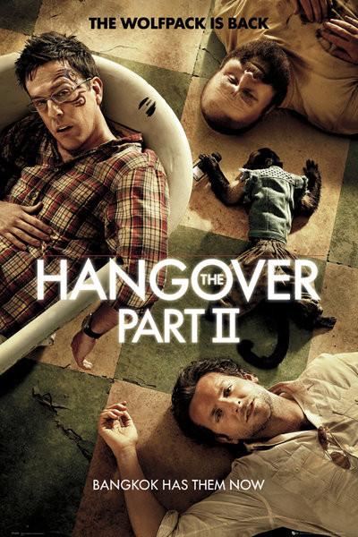 HANGOVER II - one sheet Plakát