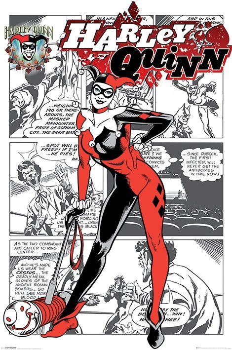 Harley Quinn - aka Dr. Harleen Francis Quinzel Plakát