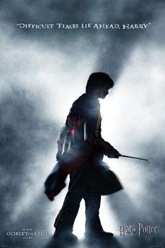 HARRY POTTER 4 - teaser plakát