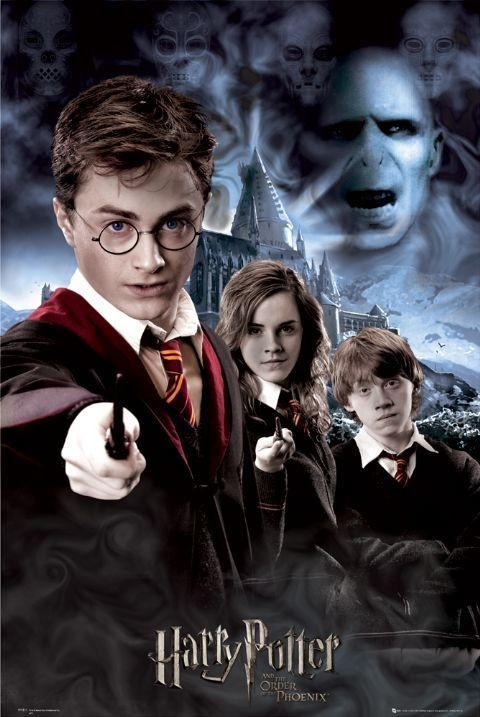 HARRY POTTER 5 - collage Plakát