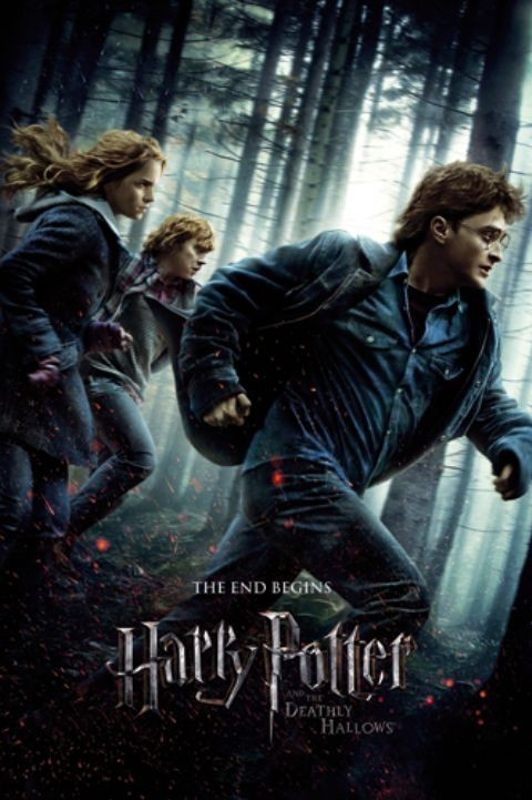 HARRY POTTER 7 - one sheet Plakát