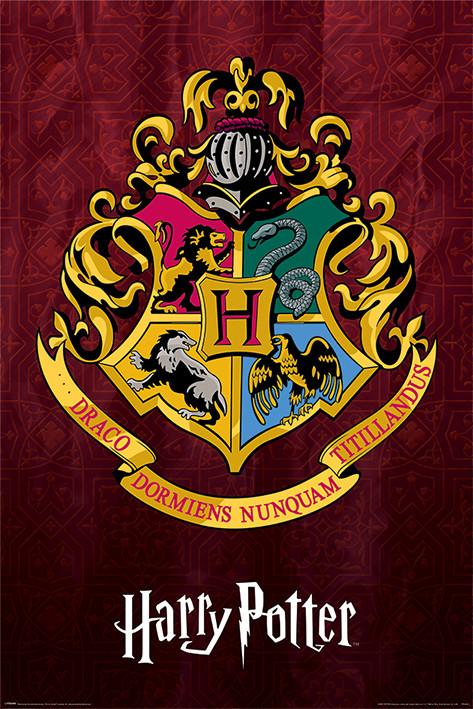 Harry Potter - Hogwarts School Crest Plakát