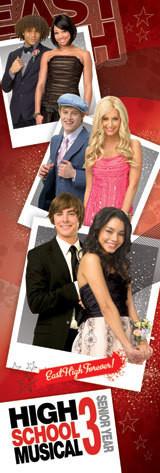 HIGH SCHOOL MUSICAL 3 - promo photos Plakát