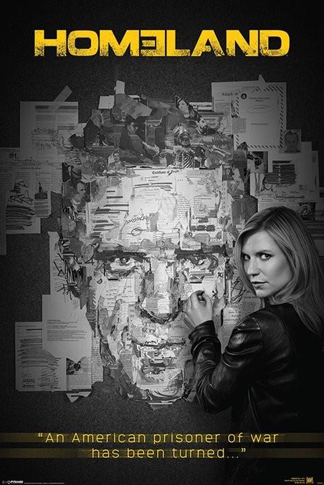 Homeland: A belső ellenség - Pinboard Plakát