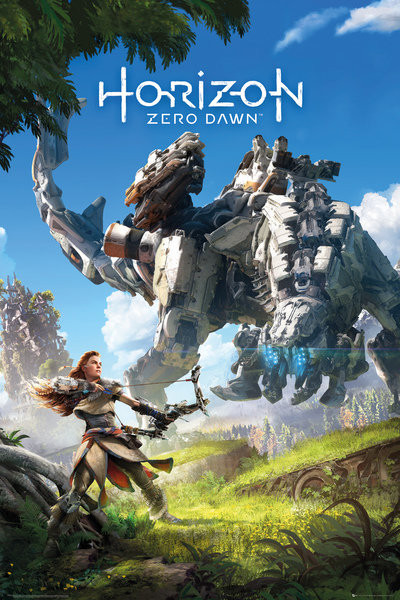 Horizon Zero Dawn - Key Art Plakát