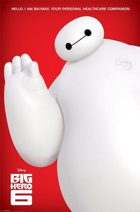 Hős6os - I Am Baymax Plakát