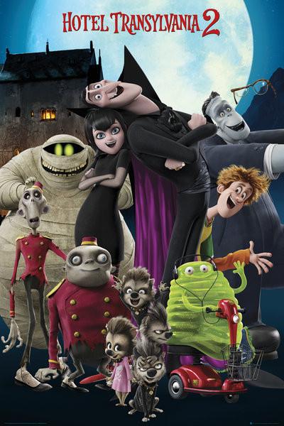 Hotel Transylvania 2: Ahol még mindig szörnyen jó - cast Plakát