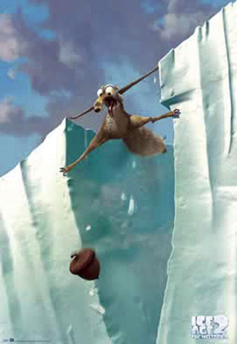 Ice Age 2 - meltdown Plakát