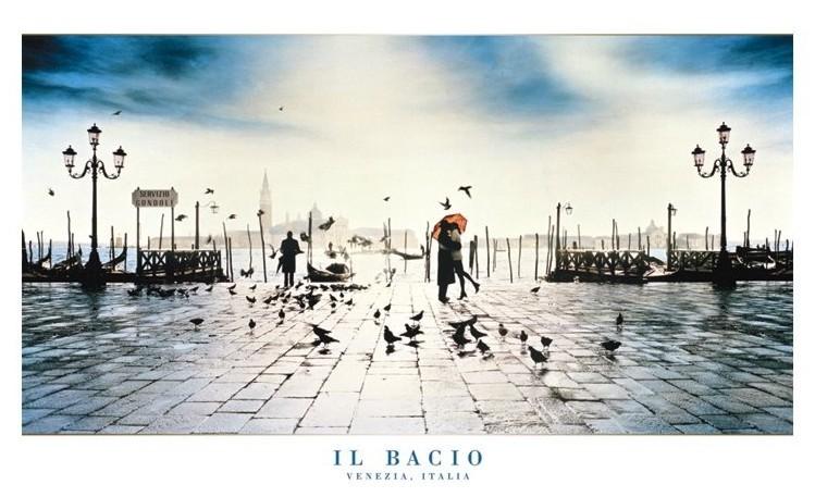 Il Bacio - venezia, italy Plakát