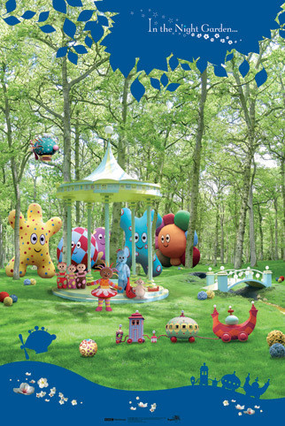 IN THE NIGHT GARDEN - personajes Plakát