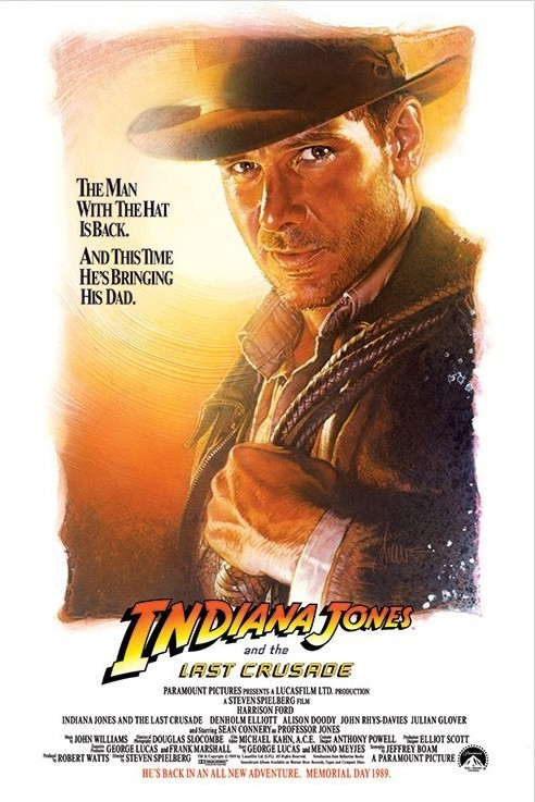INDIANA JONES - the last crusade one sheet Plakát
