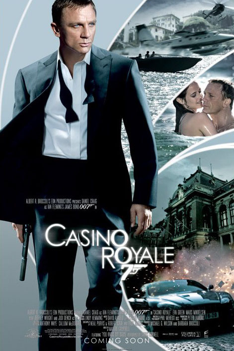JAMES BOND 007 - casino royale iris one sheet Plakát