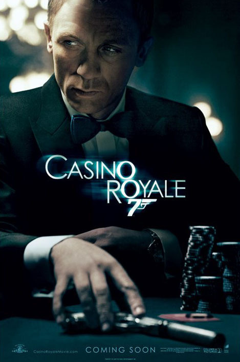 JAMES BOND 007 - casino royale teaser Plakát