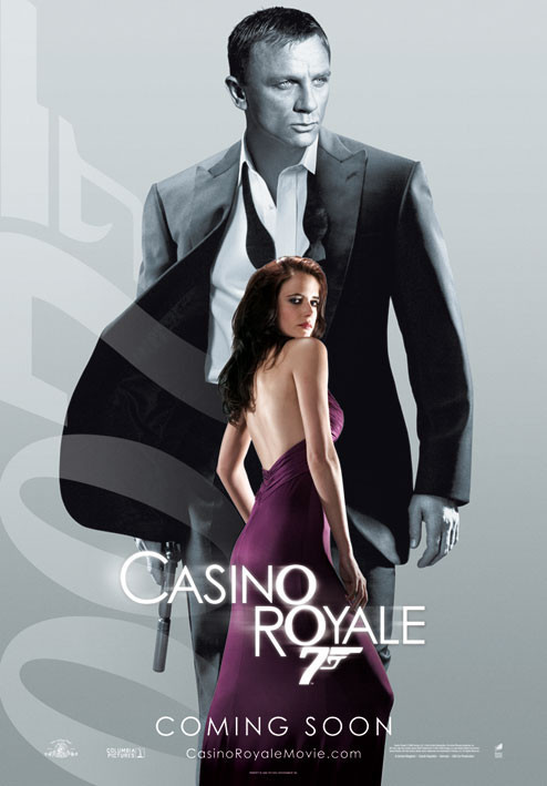 JAMES BOND 007 - casino royale vesper Plakát