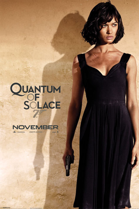 JAMES BOND 007 - quantum of solace o.kurylenko Plakát