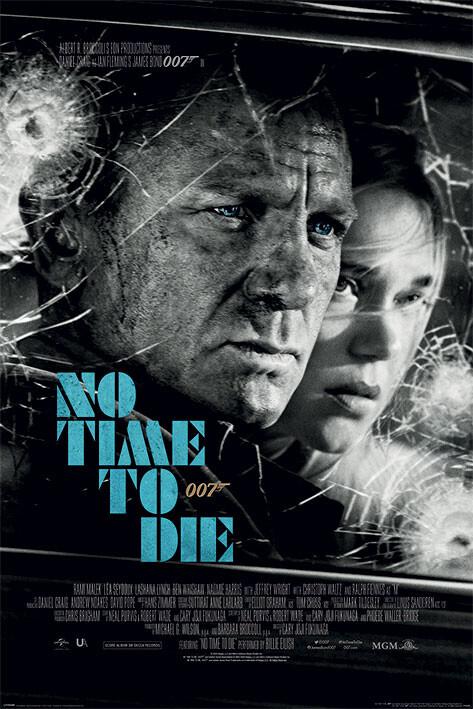 Plakát James Bond - No Time To Die