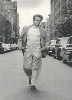 James Dean - Walking Plakát