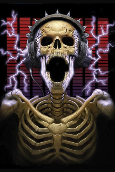 James Ryman - play it loud Plakát