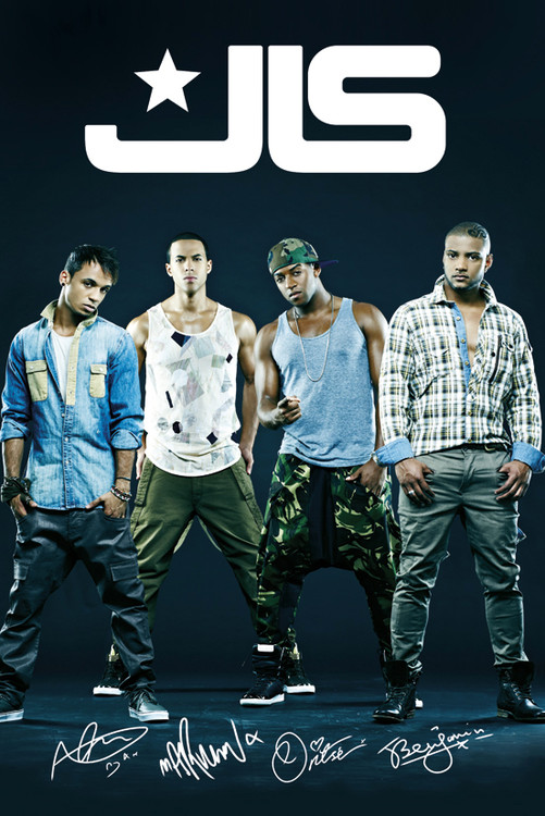 Plakát JLS - group