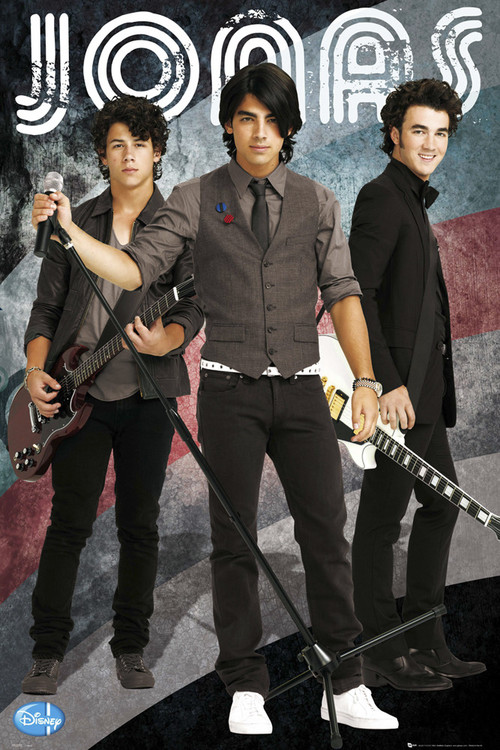 JONAS - brothers plakát