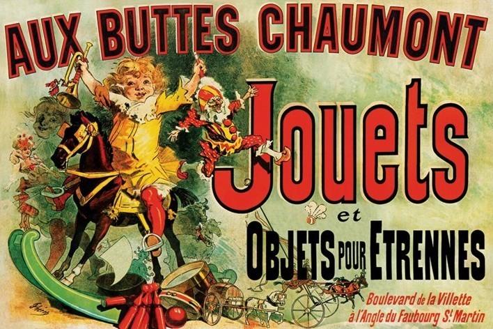 Plakát JOUETS - as seen on friends/toys