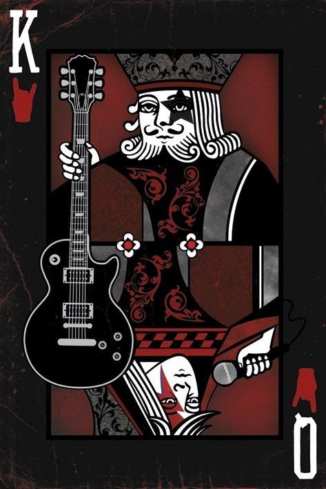 King / Queen of the rock Plakát