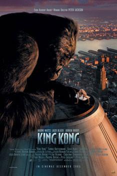 KING KONG - empire one sheet plakát