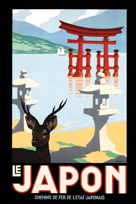 Le japon Plakát